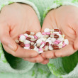 Stock Photo: Heap of pills
