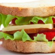 Sandwich isolerade — Stockfoto #45771465