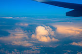 Clouds top view — Stock Photo