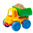 Colorful toy truck — Stock Photo #7590346