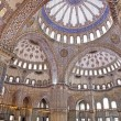 Sultanahmet Blue mosque interior - dome — Stock Photo #17978125