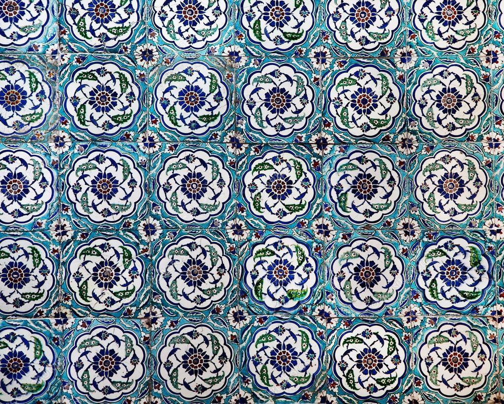 Sultanahmet Blue Mosque Interior Tiles Stock Photo 169 Le Vent Nous Portera 17977749