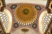 Mezquita de süleymaniye en estambul, turquía - domo — Foto de Stock