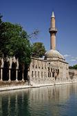 Balikli Gol (Lake) & Abdurrahman Mosque — Stock Photo