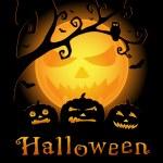 Halloween vector cardboard — Stock Vector