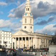 St. Martin's in the Field, London - Stock Photo