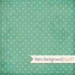 Vintage background. Polka dot — Stock Vector