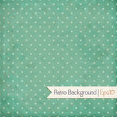 Vintage background. Polka dot — Stock Vector