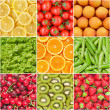 Stock Photo: Healthy food background.