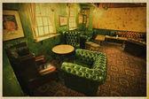 Old brittish pub interior — Stock Photo