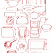 Stock Vector: Kitchenware