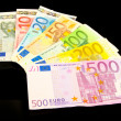 Stock Photo: Euro notes