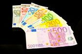 Euro notes — Stock Photo