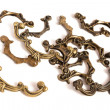 Royalty-Free Stock Photo: Vintage drawer handles