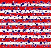 американских звезд и полос фона — Cтоковый вектор