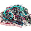 Gem beads pile — Stock Photo