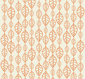 Arka planlar Retro sonbahar yaprakları — Stok Vektör