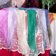Burano lace scarf — Stock Photo