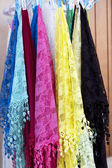 Burano lace scarf — Stock Photo