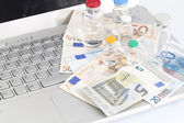 Pharmaceutical research — Stock Photo