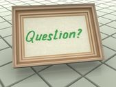 Question — Stock Photo