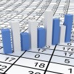 Business statistics — Stock Photo #24018705