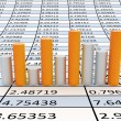 Business statistics — Stock Photo
