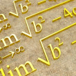 Stock Photo: Mathematical formulas