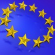 Stars of the European Union. — Stock Photo