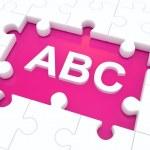 ABC. — Stock Photo