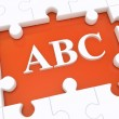 ABC. — Stock Photo