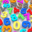 Background of numbers. - Stock Photo