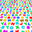 Stock Photo: Letters of English alphabet.