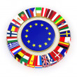 The European Union. — Stock Photo