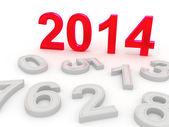 Gott nytt år 2014 — Stockfoto