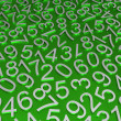 Background of numbers. — Foto Stock