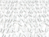 Letters of the English alphabet. — Stock Photo