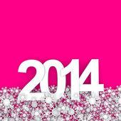 Gelukkig nieuw jaar 2014 — Stockfoto