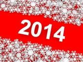 Happy New Year 2014. — Стоковое фото
