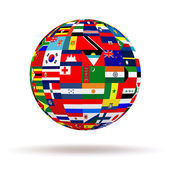 Planet flags — Stock Photo