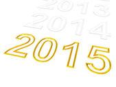 Feliz año nuevo 2015. — Foto de Stock