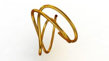 Torus knot. — Stock Video