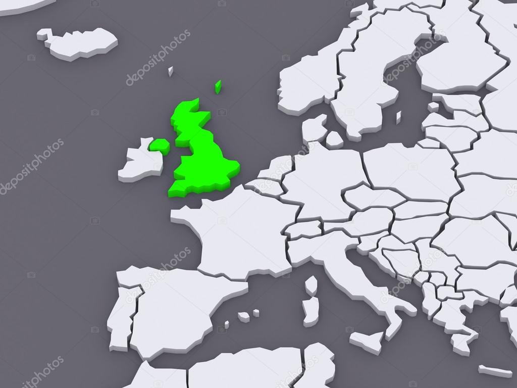 世界地图.大不列颠