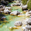 Alpine Mountain Stream — Stock Photo