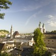 Salzburg at dawn - Stock Photo