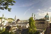 Salzburg at dawn — Stock Photo