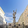 Statue of St Florian Salzburg — Stock Photo