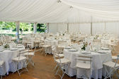 Wedding Marquee — Stock Photo
