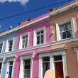 Row of houses in Notting Hill — Stock Photo