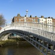 Hapenny Bridge — Stock Photo